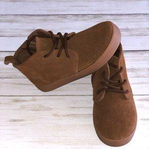 GAP Shoes - Gap Kids Tan Suede Boots - Size 9 Toddler